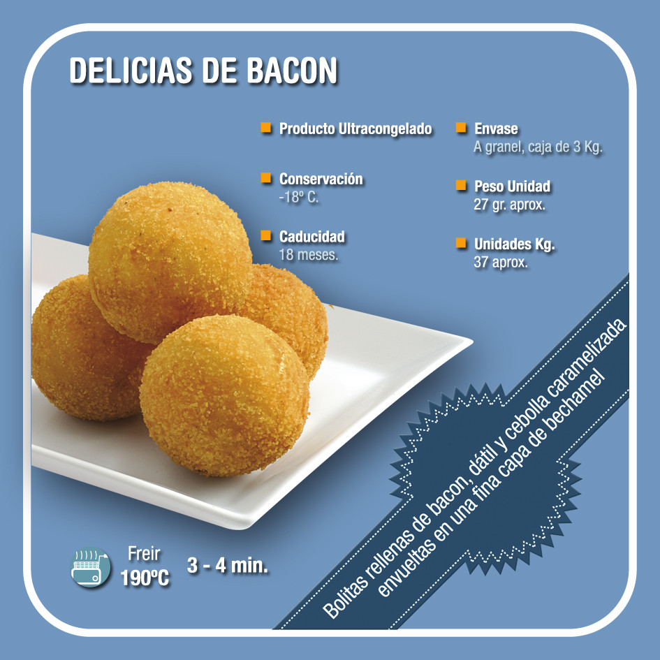 DELICIAS DE BACON